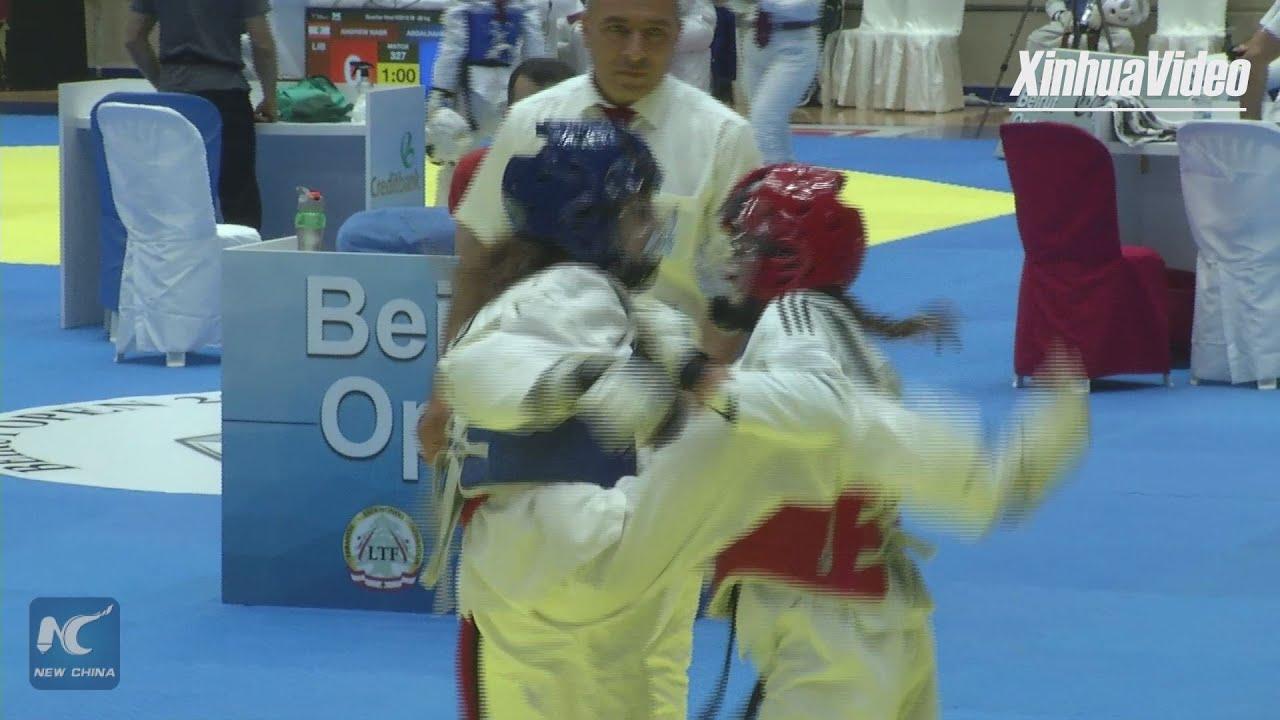 2019 Beirut Open Taekwondo championships kicks off