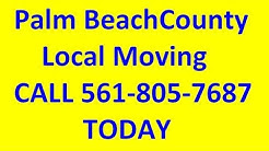 Palm Beach County Local Movers - Moving Squad Call 561-805-7687