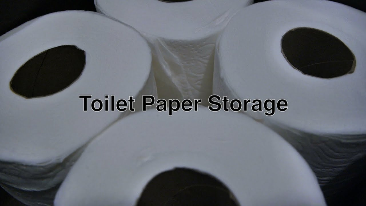 Toilet Paper Storage Solution In Our Home For Standard Sized Tissue Toilet  Paper Rolls + Drawers   YouTube