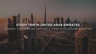 Voyage d'étude à Dubaï - MBA Spécialisé