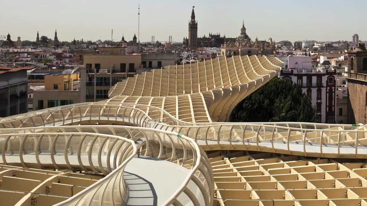 inhabitat talks with architect juergen mayer h about the metropol parasol youtube. Black Bedroom Furniture Sets. Home Design Ideas