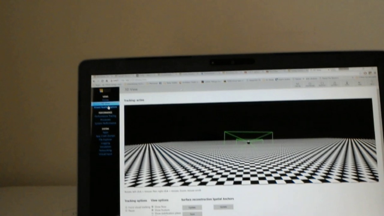 How to Connect hololens device portal from PC