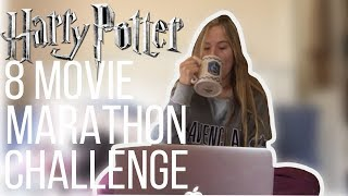 Harry Potter Movie Marathon Challenge