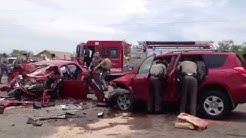 RAW VIDEO: Los Fresnos Major Accident