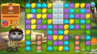 Lets play Meow match level 306 HARD LEVEL HD 1080P