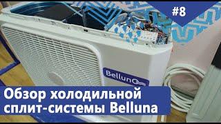 Обзор холодильной сплит-системы Belluno (на основе кондиционера). Рабочий диапазон -3...+5°С.