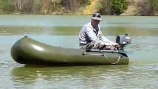 Лодочный мотор. Миф о навесном транце.(Рано или поздно любому рыбаку хочется моторизовать свою лодку. Вот и я решил поставить на свой Пеликан 280..., 2014-06-01T08:54:47.000Z)