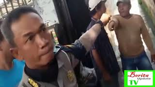 BERAKHIR RICUH! BOS PREMAN ini buat Polisi ini KETAKUTAN !!