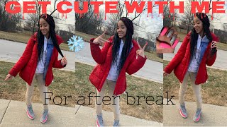 Get Cute With Me for after break !! (Back to school)
