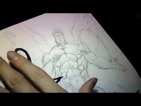 Yusuke Murata - Live drawing #38 Drawing Pri-Pri-Prisonnier !!