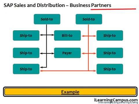 SAP Sales and Distribution Business Partners