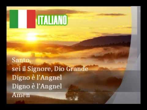 Agnus Dei (by Michael W. Smith) Multilanguage w/ Lyrics