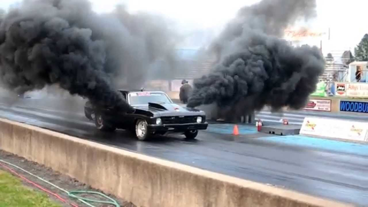 Drag Race With Diesel Power Youtube