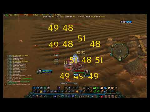 Classic WoW Best Mage 53-58 AoE Spot