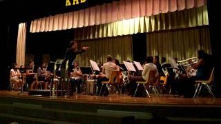 Award Winning Kress High School Band Playing Douglas Akey