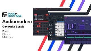 Using Only Audiomodern Generative VSTs to Create Deep House | Beats Chords Melodies Tutorial