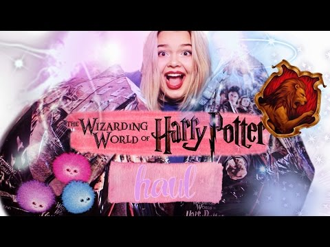 BIGGEST HARRY POTTER HAUL EVER?! | Wizarding World of Harry