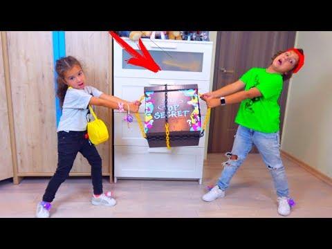 Камиль и Аминка Не ПОДЕЛИЛИ Тайную КОРОБКУ! Для Детей Kids Children