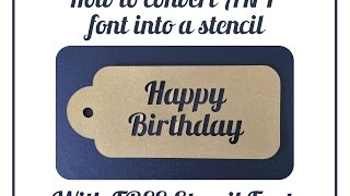 Video How to Convert Any Font To Stencil in Silhouette Studio download MP3, 3GP, MP4, WEBM, AVI, FLV Juli 2018