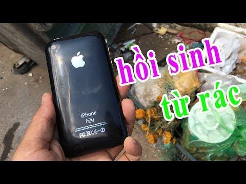 Tái sinh iphone lụm ở bãi rác công nghiệp, sự trở lại của iphone 3gs