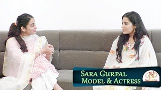 Interview with Sara Gurpal, Model & Actress