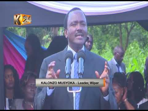 Wiper leader Kalonzo Musyoka urges current IEBC commissioners to leave office