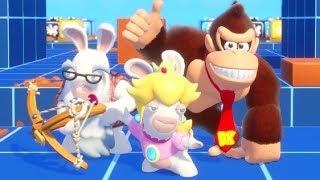 Mario + Rabbids - Donkey Kong Adventure DLC - Ultimate Challenges #1 & #2