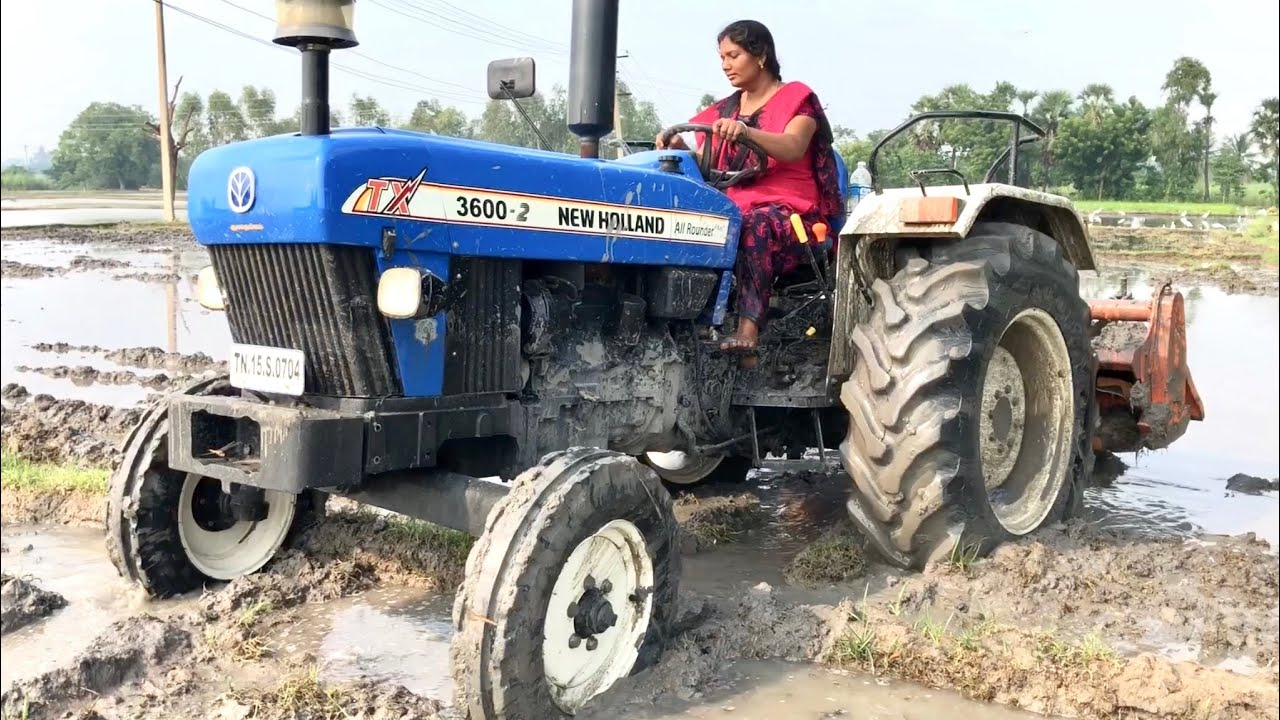 Village Girl Vs New Holland 3600 2 Tractor Demo With 5 Tyne