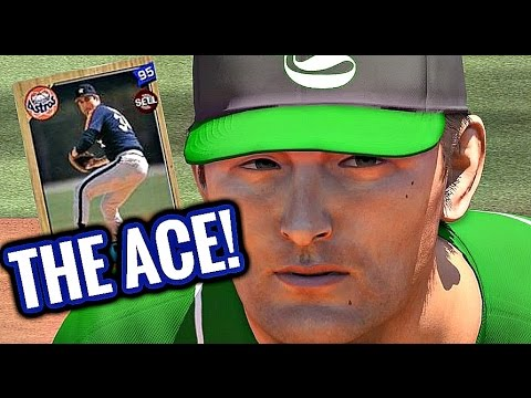MLB The Show 16 - BATTLE OF THE ACES!! NOLAN RYAN DEBUT! - Diamond Dynasty #55