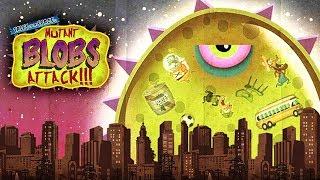 - ХИЩНЫЙ СЛИЗЕНЬ ВЕРНУЛСЯ НА ЗЕМЛЮ Мульт игра для детей про ГОЛОДНОГО СЛИЗНЯ Mutant Blobs Attack