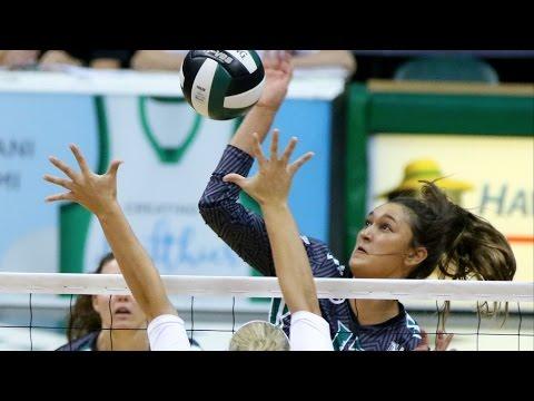 Rainbow Wahine Volleyball 2016 - #14 Hawaii Vs Northern Illinois