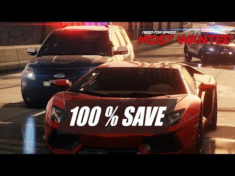 need for speed most wanted 2012 save game 100 free