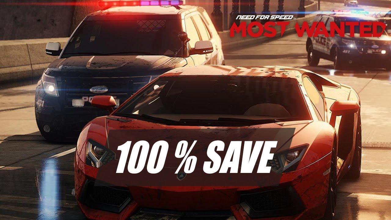 Need For Speed Most Wanted 2012 - 100% Save Game PC ...