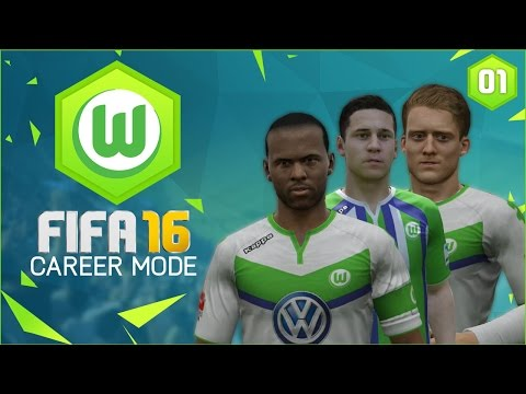 FIFA 16 | Wolfsburg Career Mode Ep1 - HOW TO REPLACE KEVIN DE BRUYNE?!