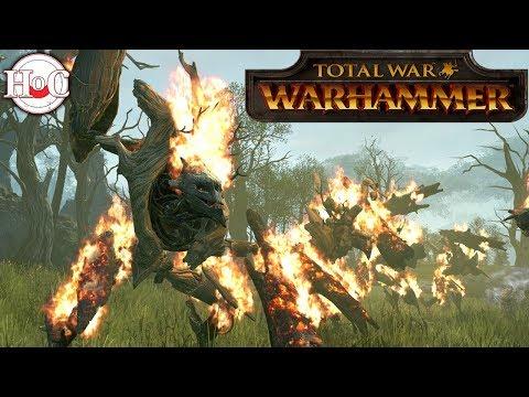Total War Warhammer - Wood Elves - Regiments of Renown