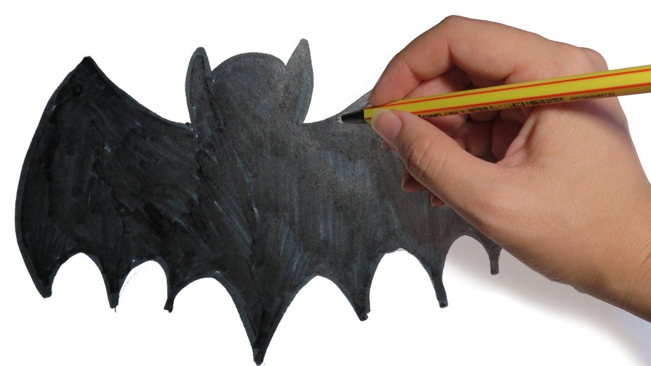 Como dibujar murcielagos facil para halloween paso a paso - Tapizado de sillas paso a paso ...