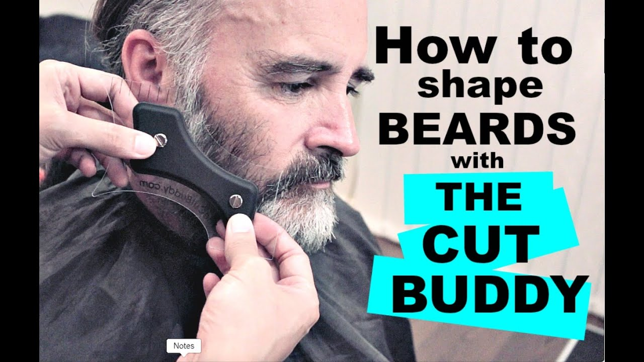 how to trim and shape beards with the cut buddy beard tutorial wezstyles youtube. Black Bedroom Furniture Sets. Home Design Ideas