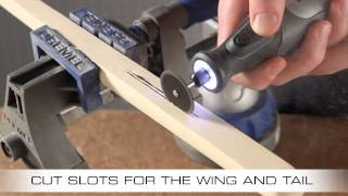 How To Make a Balsa Wood Glider with the Dremel Micro 8050