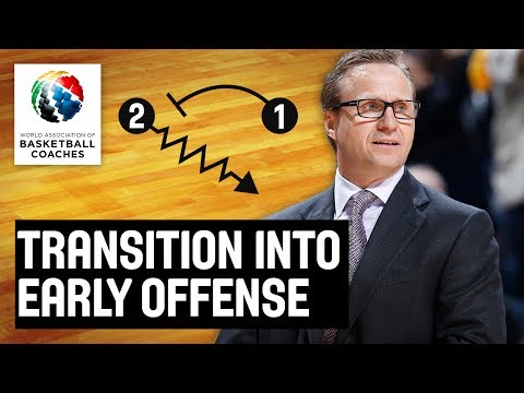 Transition into Early Offense - Scott Brooks Washington Wizards - Basketball Fundamentals