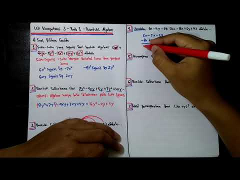 pembahasan-soal-uji-kompetensi-3-bab-3-bentuk-aljabar-smp-kelas-7-semester-1-nomor-1-sampai-7