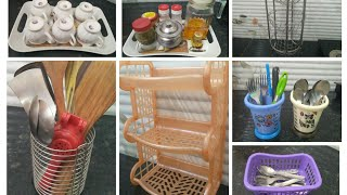 Kitchen Organization Tips and Tricks || kitchen organization Storage ideas ||