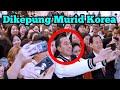 Presiden Jokowi dapat Tepuk Tangan Murid Korea