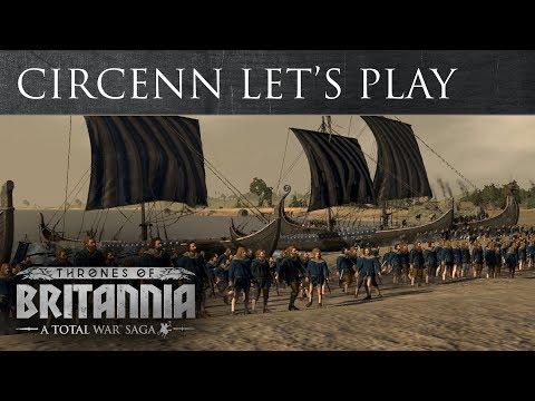 Total War Saga: Thrones of Britannia - Circenn Let's Play