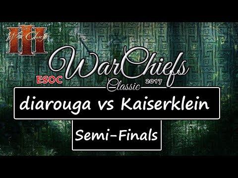 [AoE3] ESOC WarChiefs Classic — SEMI-FINALS: diarouga vs Kaiserklein [unfinished]