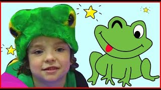 5 Little Speckled Frogs by Makar