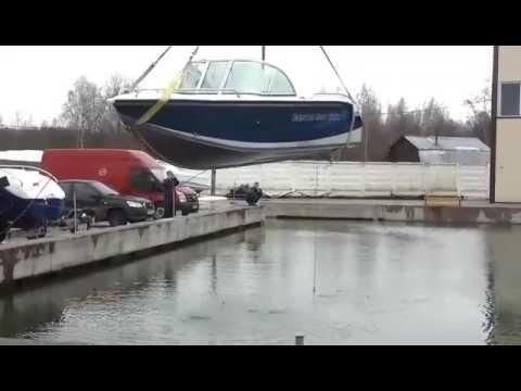 Испытание катера Corvet