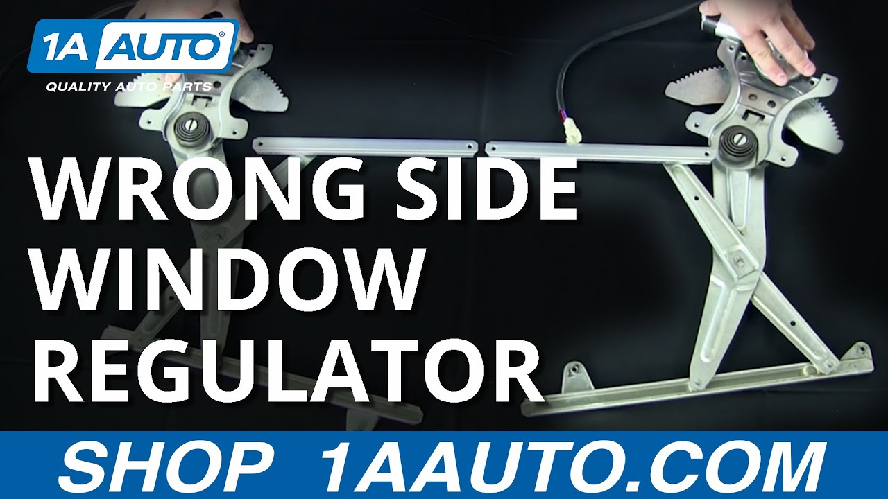 Troubleshooting Tips For Your New Window Regulator 1a Auto