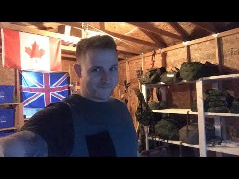 Canadian Army Equipment Organizing!