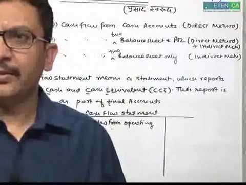 CA IPCC Accounts Group 1, Cash Flow Full Topic Covered  By CA Parveen Sharma lecture 1