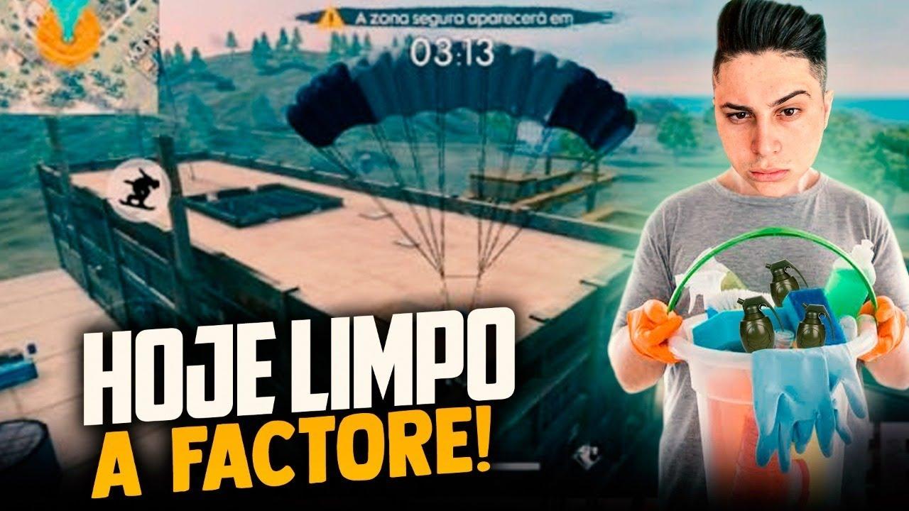 ❤️ LIMPANDO OS FACTORYANOS !! CODIGUIN TA TENDO! ❤️ EL MEGA! FT DEUS !🔴FREEFIRE AO VIVO - LIVE